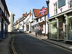 Diss - shops in St Nicholas Street - geograph.org.uk - 1768169.jpg