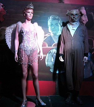 Daleks in Manhattan - The showgirl costume and Pig Slaves as shown at the Doctor Who Experience.