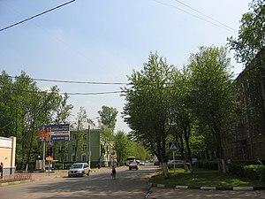 Dolgoprudny - A street in Dolgoprudny