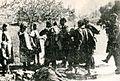 Domačini na Moravškem pozdravljajo borce Šlandrove brigade.jpg