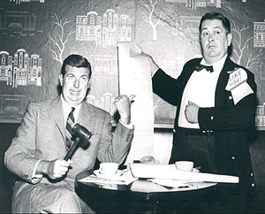 Don McNeill's Breakfast Club - Image: Don Mc Neill Sam Cowling Breakfast Club 1956