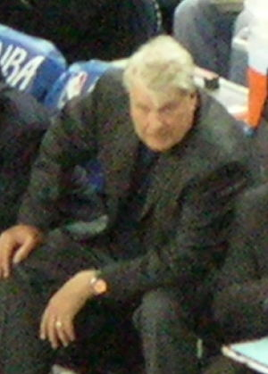 2002 NBA All-Star Game - Image: Don Nelson at Suns at Warriors 3 15 09 1