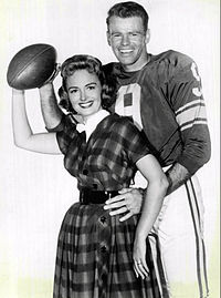 Donna Reed Bill Wade Donna Reed Show 1959.JPG