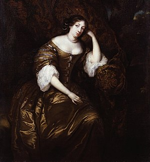 "Sir William Temple, 1st Baronet - ""Dorothy, Lady Temple"" by Gaspar Netscher 1671"