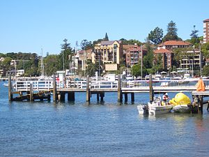 Double Bay ferry services - Image: Double Bay ferry wharf