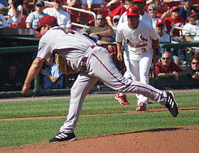 Doug Davis pitching in September 2008.jpg