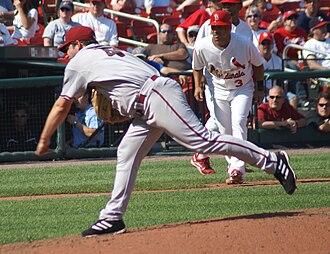 Doug Davis (pitcher) - Davis pitching for the Arizona Diamondbacks in 2008.