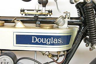 Douglas (motorcycles) - Image: Douglas flattank