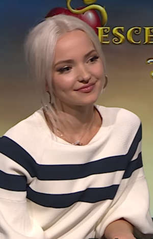 Dove Cameron - Cameron in an interview for the film Descendants 2.