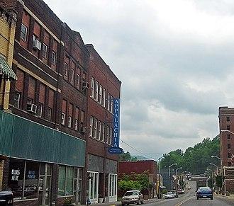 Appalachia, Virginia - Main Street looking southwest