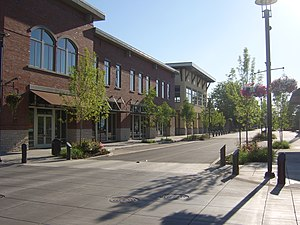 Washougal, Washington - Downtown Washougal facing west