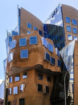 University of Technology Sydney - The UTS Dr Chau Chak Wing Building designed by Canadian architect Frank Gehry