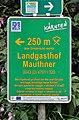 Drauradweg sign Olsach, Landgasthof Mauthner.jpg