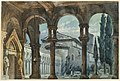 Drawing, Stage Design, Cloister at Night, 1869 (CH 18543601).jpg