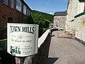 Dulverton , Town Mills Entrance - geograph.org.uk - 1493957.jpg