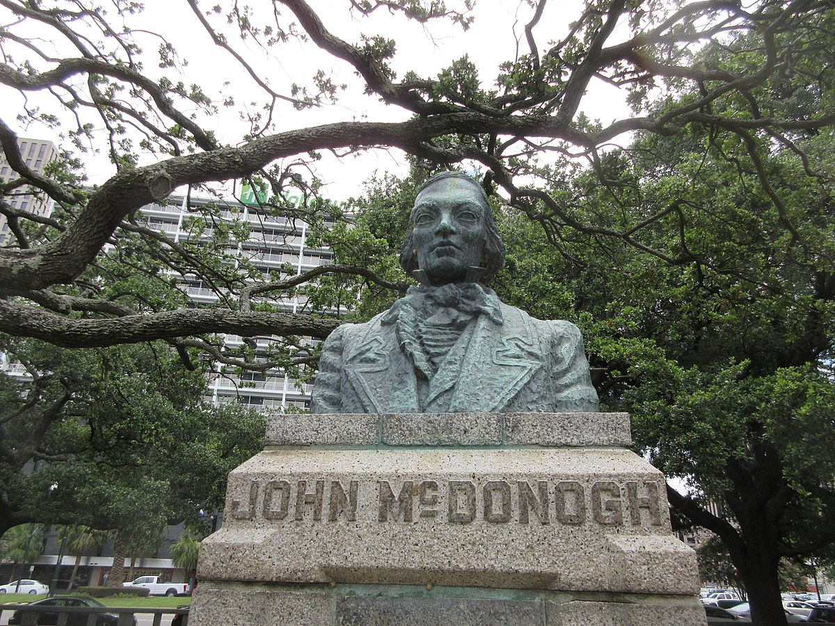 Bust of John McDonogh - Wikipedia