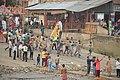 Durga Idol Immersion Procession - Ramkrishnapur Ghat - Howrah 2015-10-22 6572.JPG