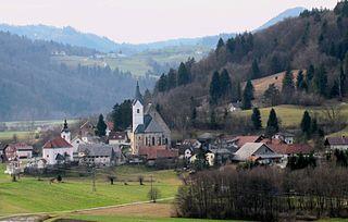 Dvor pri Polhovem Gradcu Place in Upper Carniola, Slovenia