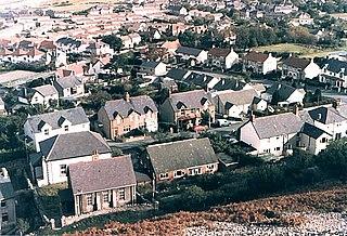 Dwygyfylchi Village in Wales