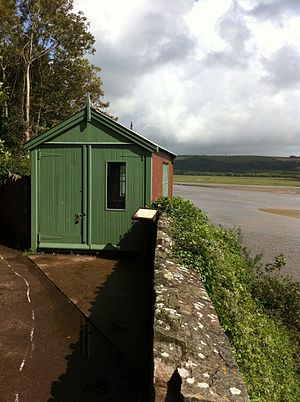 Dylan Thomas - Thomas's £5 writing shed in Laugharne, Carmarthenshire