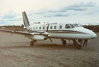 Embraer - Embraer EMB 110 Bandeirante, an early model