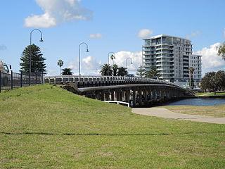 Mandurah City in Western Australia