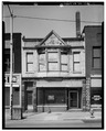 EAST (FRONT) ELEVATION - Weil Building, 130 South Park Avenue, Warren, Trumbull County, OH HABS OHIO,78-WAR,4-1.tif