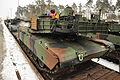 EAS M1A2s arrive in Grafenwoehr (12234695974).jpg