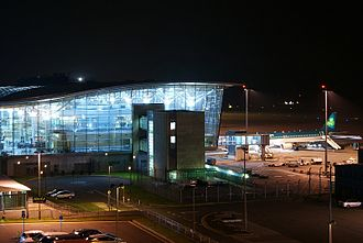 Cork Airport - Airport at night