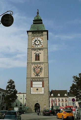 Enns (town) - Image: ENNS Turm 40266