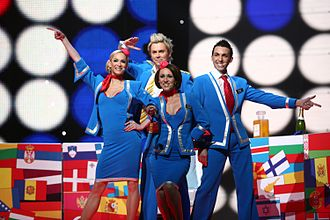 United Kingdom in the Eurovision Song Contest 2007 - Performing at the Eurovision Song Contest 2007.