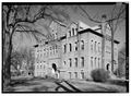EXTERIOR, GENERAL VIEW FROM SOUTHEAST - Union County Courthouse, Courthouse Square, Elk Point, Union County, SD HABS SD,64-ELPO,1-4.tif
