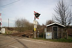 Eagle Barnsdale Level Crossing - geograph.org.uk - 361335.jpg