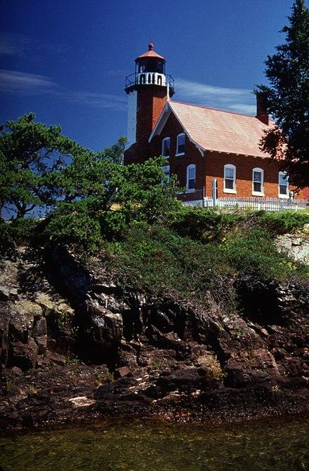 Eagle Harbor Lighthouse, Keweenaw Peninsula, Michigan  № 2240202 без смс