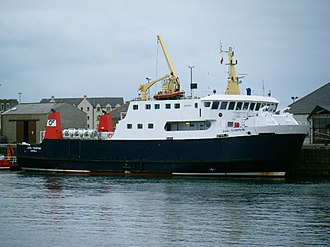 Orkney Ferries - Earl Thorfinn at Kirkwall