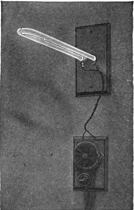 One Of The First Mercury Vapor Lamps Invented By Peter