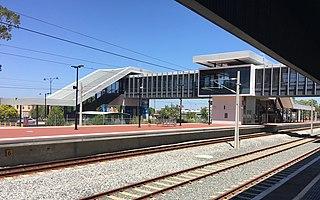 East Perth railway station Railway station in Perth, Western Australia