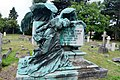 East Sheen Cemetery, The Angel of Death, George William Lancaster Memorial by Sydney March (2).jpg