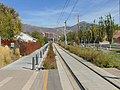 East along S Line from Sugarmont station, Salt Lake City, Utah, Oct 16.jpg