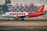 EasyJet (Tartan Livery), G-EZBF, Airbus A319-111 (28358361349).jpg