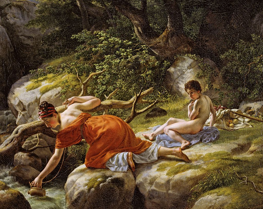 Eckersberg, CW - Hagar og Ismael - 1813.jpg