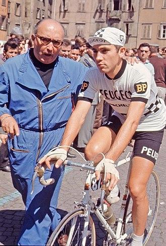 Eddy Merckx - Image: Eddy Merckx 1967