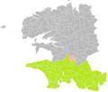 Edern (Finistère) dans son Arrondissement.png