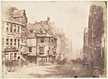 Edinburgh. The High Street with John Knox's House MET DP140459.jpg