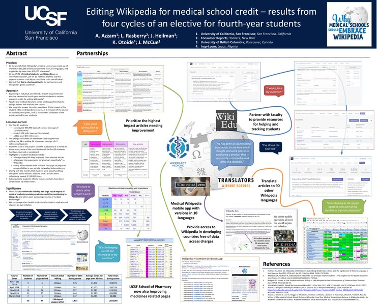 File:Editing Wikipedia for medical school credit - 2016