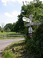 Edmondsham The Stocks fingerpost - geograph.org.uk - 1329804.jpg