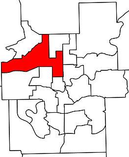 Edmonton-Calder Defunct provincial electoral district in Alberta