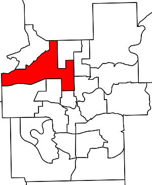 Edmonton-Calder - 2010 boundaries