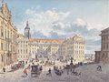 Eduard Gurk - Am Hradschin in Prag - c. 1838.jpg