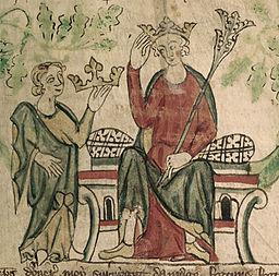 Edward II - British Library Royal 20 A ii f10 (detail)